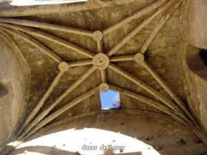 Detalle del techo de la Iglesia de Santa María de Lorca