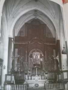 SANTA MARIA ALTAR