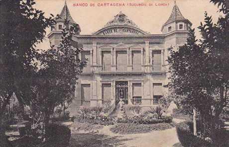 COSAS DE LORCA - BANCO CARTAGENA HUERTO RUANO