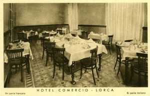 HOTEL COMERCIO SALON COMERDOR 1930