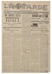 LA TARDE DIARIO REPUBLICANO 1933