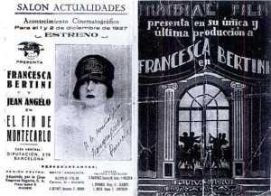 SALON ACTUALIDADES 1927 PROGRAMA DE MANO