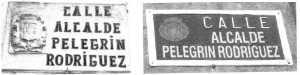 CALLE ALCALDE PELEGRIN RODRIGUEZ