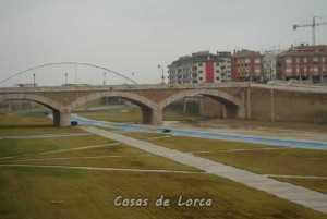 El rio Guadalentin a su paso por Lorca