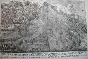 VISTA DE LORCA TRAS INUNDACION 3 ABRIL 1802