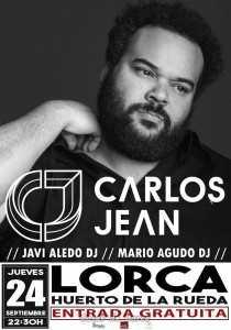 CARLOS JEAN EN LORCA