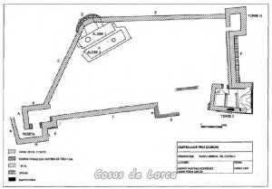 CASTILLO DE FELI - MAPA