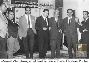 ELIODORO PUCHE CON MANUEL ALCANTARA EN 1963