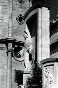 ESCULTURA SAGRADO CORAZON JESUS - JOSE PLANES 1955
