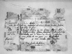 NOTA DE OBRAS EN 1930