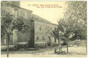 VIRGEN DE LAS HUERTAS 1920
