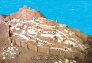 MAQUETA DE LORCA EN 1226