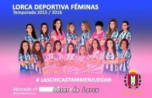 CARNET ABONADO LORCA FEMINAS 2016