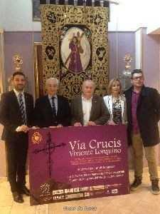 El Paso Morado y el Ayuntamiento de Lorca organizan para el Lunes Santo el I Viacrucis Viviente con 46 actores que representarán la Pasión por las estaciones hasta el Calvario[1]
