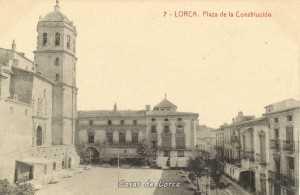 PLAZA DE LA CONSTITUCION 1920