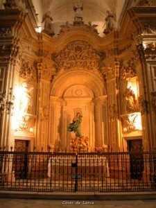 TRASCORO DE LA ANTIGUA COLEGIATA SAN PATRICIO