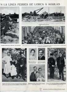 Publicación de la época con fotos de la noticia 1.927.