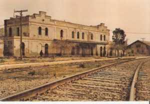 Antigua estación de San Diego en 1.987, que fué demolida.