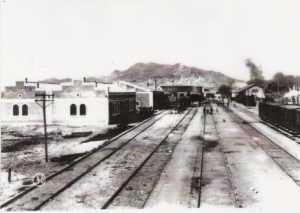 Antigua estación de tren en San Diego Lorca 1.910