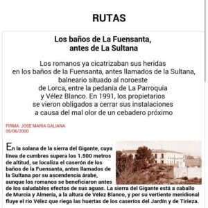 BAÑOS DE LA FUENSANTA ANTES DE LA SULTANA