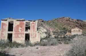 Balneario de Carraclaca en ruinas. Lorca. Foto: http://falsaciudad.blogspot.com.es