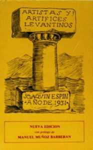 JOAQUIN ESPIN 1931