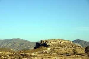 Castillo de Puentes en La Tova (Lorca)