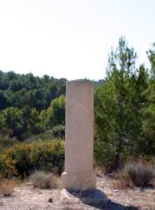Columna Miliaria de La Tova (Lorca)
