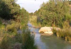 Río Luchena en el municipio de Lorca