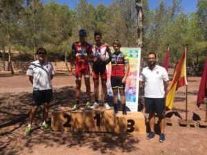 60 jóvenes promesas del mountain bike compiten en el VII Trofeo Interescuelas de Mountain Bike de los Juegos