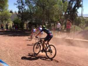60 jóvenes promesas del mountain bike compiten en el VII Trofeo Interescuelas de Mountain Bike de los Juegos del Guadalentin
