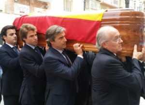 ENTIERRO JOSE MANUEL CLAVER PRESIDENTE CHS