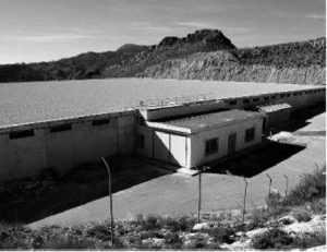 Nuevo depósito de la MCT en el barrio de San Cristóbal, en las estribaciones de la Sierra de Tercia.