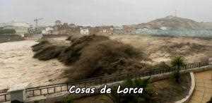 Rambla de Nogalte en Puerto Lumbreras (28/9/2012)