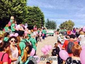 MAREA HUMANA CONTRA EL CANCER DE MAMA APOYO AECC