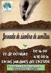 JORNADA DE SIEMBRA DE SEMILLAS LA CARRASCA