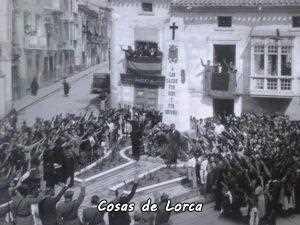 Lorca homenaje a los caidos 1939