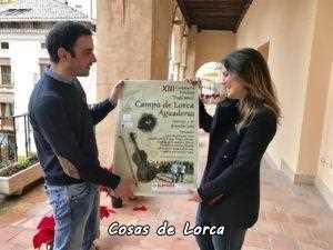PRESENTACION CARTEL FIESTAS FOLKLORE AGUADERAS CAMPO DE LORCA