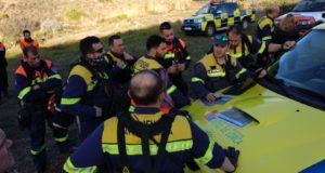 13 voluntarios del Servicio Municipal de Emergencias y Protección Civil participan en la búsqueda de Gabriel Cruz, el niño desaparecido el pasado martes en Níjar (Almería)