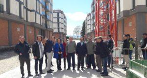 Las obras de reconstrucción del barrio de San Fernando finalizarán este verano