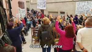 VECINOS DE SAN PEDRO VOTAN NO AL CAMBIO DE SU LOCAL SOCIAL